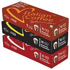 Product was successfully added to your shopping cart. Italian Coffee Pods Compatible With Nespresso Original Machines Italian Expresso Capsules Passione Ristretto Lungo 30 Pods Amazon Com Grocery Gourmet Food