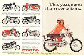 vintage honda motorcycle ads. 1967 Honda Sport 160 Vintage Motorcycle Ad In Ads