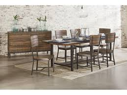 Industrial Dining Room Table Magnolia Home By Joanna Gaines Industrial 84 Dining Table With