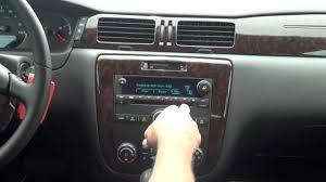 2012 Chevy Impala LTZ - Radio Features - YouTube