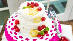 Recipe Raspberry Lemon Cake Home Family Hallmark Channel