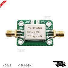 Low Noise 5M-6GHz RF Amplifier Ultra Wideband Gain 20dB Medium Power  Amplifier aus dem eBay.de Preisvergleich bei E-Pard
