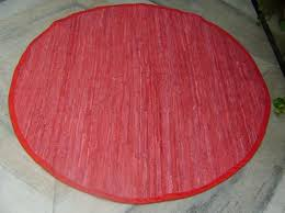round red area rugs contemporary