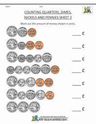 Money Worksheets for Kids 2nd Grade : Kelpies