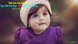 Đặt tên con gái 2021 2021 | Top 23 tin tức Đặt tên con gái 2021 tháng 10  2021 Dịch vụ Hay