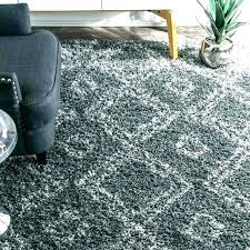 grey furry rug faux fur area fluffy black and white striped for grey furry rug fake fur white
