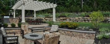 Small Picture Backyard Landscape Sparta NJ CLC Landscape Design