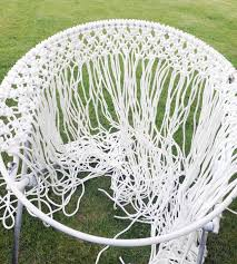 the cutest diy hanging macrame chair this fun chair is one of our favorites for tutorial