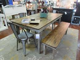 large size of farmhouse table with metal chairs and be bench dining farm