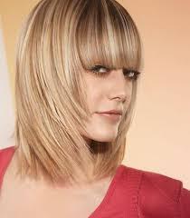 Cheveux Mi Long Avec Frange