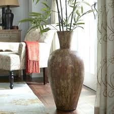 Large Decorative Vases And Urns Astonishing Large Tall Decorative Floor Vase In Brushed Pics For And 23