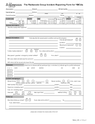 Best Photos Of General Incident Report Template Car