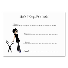 customer info card template beauty salon client information cards card templates salons and