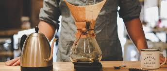 Then he could hold his meal in one hand and play cards with the other. Chemex Coffee Maker Learn About The Iconic Chemex Essense Coffee