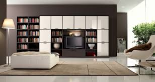 White Cabinets Living Room Open Book Shelving Decor For Private Room With Duco Furniture