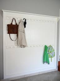 Wall Coat Rack Ideas DIY Beadboard Shaker Peg Coat Rack Hometalk 65