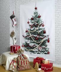 22 Creative DIY Christmas Tree Ideas  Bored PandaChristmas Trees That Hang On The Wall