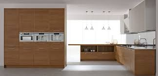 modern wood kitchen cabinet with 4 industrial kitchen pendant lamps and grey wall kitchen cabinet