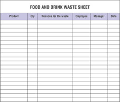 daily inventory sheets restaurant inventory spreadsheets that you must maintain and