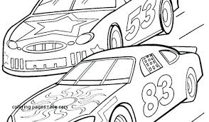 Coloring Pages Racing Car Coloring Pages Race Free Printable Cars