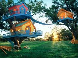 Simple Kids Tree Houses Woody Tree House Simple Kids Houses A