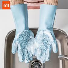 <b>Xiaomi</b> JJ Волшебные <b>силиконовые перчатки</b> для чистки ...