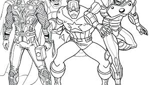 Marvel Coloring Pages Printable Avengers In Addition To Free Lego