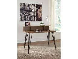 Home Office Desks Furniture Custom Signature Design By Ashley Home Office Desk And Hutch H4848 Z