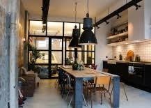 Industrial kitchen lighting fixtures Farmhouse Every Time You Think Of Industrial Lighting Fixtures The First Thing That Comes To Mind Is The Kitchen With An Endless Array Of Pendant Light Choices Decoist 50 Gorgeous Industrial Pendant Lighting Ideas