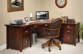 corner office furniture. Wonderful Small Corner Office Desk Antique White Design Furniture