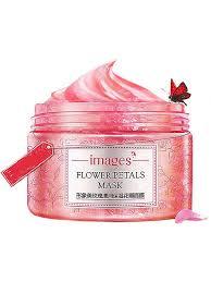 <b>Питательная маска для лица</b> с лепестками и маслом розы 120 гр ...