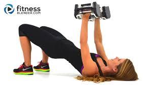 upper body sut workout with fat burning cardio intervals arm chest back shoulder workout fitness blender