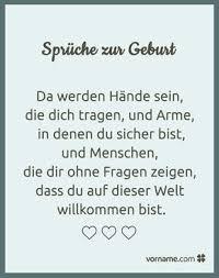 Schöne Sprüche Zur Geburt Words Pinterest Mamá Frases De Baby