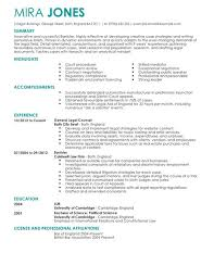 attorney cv template