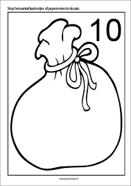 Pakjes Of Pepernoten Kleien 10 Kaarten Sinterklaas Thema