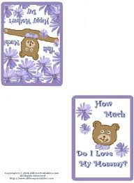 Print A Mother S Day Card Online Mothers Day Printables Mothers Day Cards Coupon Books And