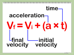 equation for finding velocity jennarocca