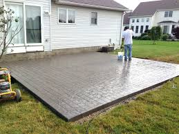 decorative concrete patio inspirational patio ideas stamped concrete patio contractors stamped