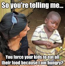 So you're telling me... You have eaten so much food your stomach ... via Relatably.com