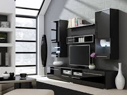 home entertainment furniture design galia. Kansas 3 High Gloss Black TV Wall Unit Home Entertainment Furniture Design Galia I