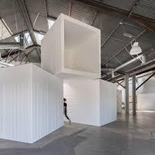 interior designers office. Brilliant Designers Massive White Boxes Turn LA Warehouse Into Offices By FreelandBuck With Interior Designers Office
