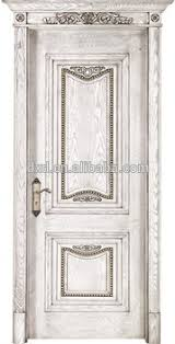 white wood door. White Paint Solid Wood Door/Luxury Europe Style Wooden Door