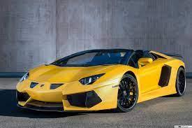 Aventador Lamborghini kuning muat turun ...