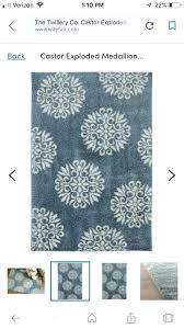 wayfair area rugs 5x7 beautiful area rug less than 6 mo old excellent condition from till