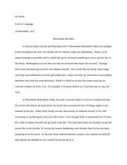 shawshank redemption essay shear final reflection write a  shawshank redemption 1