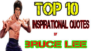 Hindi Top 10 Inspirational Quotes By Bruce Lee