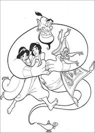 Small Picture Disneys Aladdin Coloring Pages Cartoon Coloring pages of