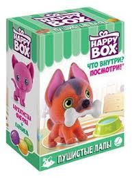 Игрушка с конфетами Happy Box Пушистые лапы 18 г — купить ...