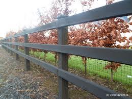 d rail timber fence 3 rail