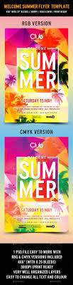 welcome summer flyer template trees flyers and photoshop welcome summer flyer template photoshop psd palm tree splash ➝